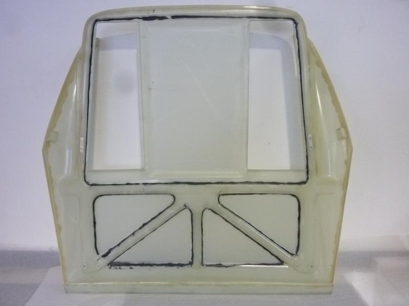 Motorhaube 308 einteilig GFK prepreg