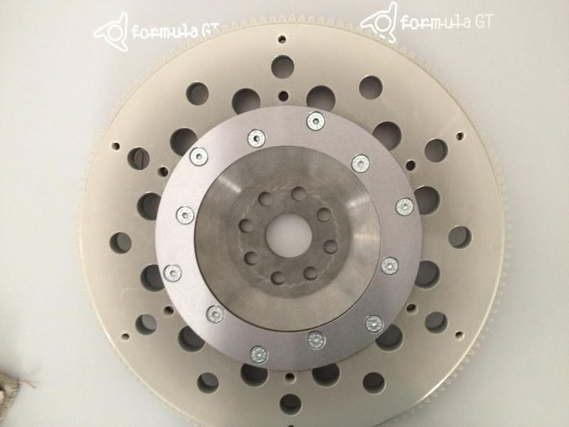 Schwungscheibe Vollaluminium 308 184mm Kupplung