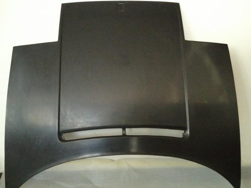 Kofferraumdeckel Carbon F355 vorne