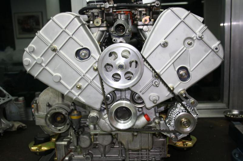 Komplettmotor Ferrari 308 Gruppe 4 Vergasser
