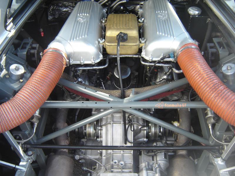 Motorumbau F355 480 PS